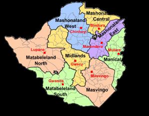 zimbabwe provinces